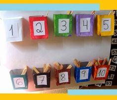 Ainda não fez ou comprou todos os painéis de sua sala de aula? Então você vai amar as indicações deste post. Fun Math, Math Games, Math Activities, Preschool Activities, Maths, Art For Kids, Crafts For Kids, Reggio Emilia, Diy Arts And Crafts