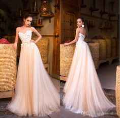Sexy Beach Wedding Dresses 2017 Lace Appliques Sweetheart Backless A Line Wedding Gowns Simple Bridal Dress Sweep Train Wedding A Line Dresses Wedding Dresses Brides From Dmronline, $111.16| Dhgate.Com