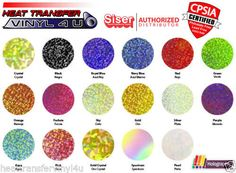 Siser Holographic Heat Transfer Vinyl Color Choices:Advantage A New Dimension in Heat Transfer Vinyl.Take your logo to the next level with Siser's Holographic. Create a three dimensional prism-like effect to make your textiles shine.Applies at lower temperaturesPeels COLDWeed sm