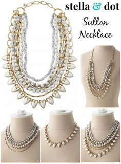 Stella & Dot Sutton Necklace- Versatility at its best! http://www.stelladot.fr/sites/evelynedeidda