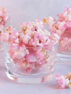 Pink popcorn ... great for a pinkalicious party and I am also making it for Chloe's Hello Kitty party so I will share the recipe soon!