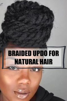 Tips and trips to style a braided updo using you natural hair and extensions. #braidingupdo #hairupdo Long Natural Hair, Natural Hair Updo, Natural Hair Styles, Long Hair Styles, Protective Hairstyles For Natural Hair, Black Bride, Natural Hair Inspiration, Braided Updo, Black Women Hairstyles