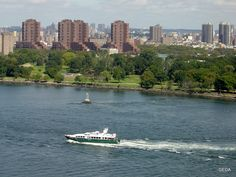 New York, Boat, River, Outdoor, Outdoors, New York City, Dinghy, Boats, Outdoor Games