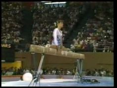 Balance beam used to be so different. You don't see these skills anymore. Amazing!