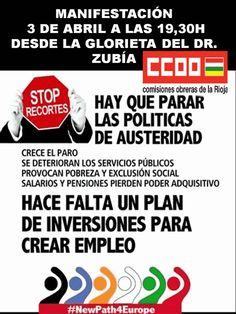 Manifestacion 3 de Abril Stop recortes