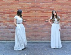 C: Scoop neck maxi dress tutorial (with pockets) (Add Peter Pan Collar to this guy?)
