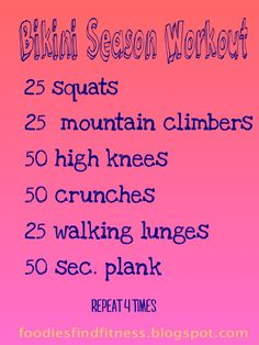 Fantastic pre-summer workout by Foodies Find Fitness!