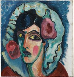 Alexej von Jawlensky - Manola (Courtauld Gallery, London)