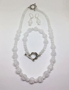 A personal favorite from my Etsy shop https://www.etsy.com/listing/483934246/crystal-quartz-silver-plated-jewelry-set