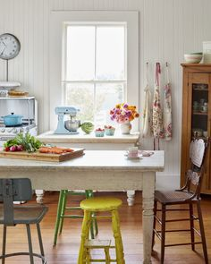 Kitchen - 16 Vintage Decorating Ideas From Inside a 19th-Century California Farmhouse - This is what a farmhouse that's been in the same family for 75 years looks like.