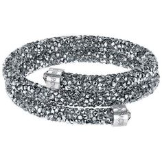 brazalete swarovski crystaldust double 5237762