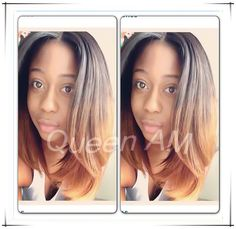 """Short Ombre Blonde Brazilian Human Hair Bob Wig Cheap Beyonce Glueless Front Lace Wig For African American With Baby hair bangs  $<span itemprop=""""lowPrice"""">118.00</span> - <span itemprop=""""highPrice"""">183.00</span>"""