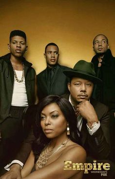 """""""The Lyon family.Empire just brung Hip Hop to t.v on a whole new level . The music is awesome! Empire Tv Show Cast, Serie Empire, Empire Fox, Empire State, Top Des Series, Tv Series, Drama Series, Hip Hop, Best Tv Shows"""