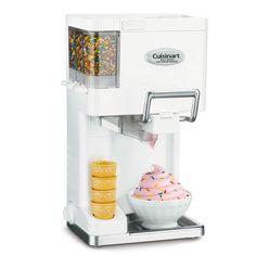 The Automatic Soft Serve Ice Cream Maker by Hammacher Schlemmer