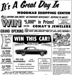 The Woodmar Shopping Center, was once a Great Place to go. Now all torn Down except for the old Carson's Building Hammond Indiana, Great Places, Places To Go, Shopping Center, Grand Opening, Mall, Nostalgia, Old Things, Memories