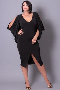 1ad099c1045f Plus Size Cold Shoulder Grecian Dress - Black Best Plus Size Dresses