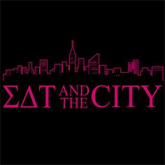 Sorority Sex and the City T-shirt  $8.90