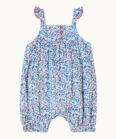 Another great find on #zulily! Blue Rosie Romper - Infant by Frangipani Kids #zulilyfinds