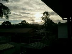 Sunset in Lismore