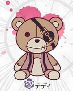 Diabolik-Lovers-Teddy-Kotobukiya-Rubber-Phone-Strap-Licensed-NEW