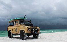 Land Rover Defender 90 & 110 owner and admirer Landrover Defender, Defender 90, Land Rover Defender 110, Land Rovers, Suv 4x4, Jeep 4x4, Best New Cars, Adventure Car, Beach Cars