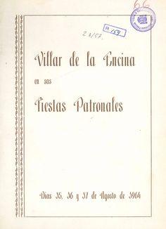 Fiestas en Villar de la Encina (Cuenca) en honor a San Roque del 15 al 17 de agosto de 1964 Breve reseña histórica sobre la Cofradía de San Roque de la localidad #Fiestaspopulares #VillardelaEncina #Cuenca