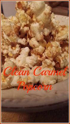 Clean Carmel Popcorn