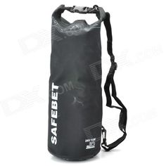 Brand: N/A; Quantity: 1; Color: Black; Material: PVC; Gender: Unisex; Other Features: Protects your devices from water, sand and dust; A great way to keep your clothes, cell phone or camera dry; Ideal for swimming, drifting or other outdoor sports; Packing List: 1 x Drifting bag1 x Shoulder strap (100cm); http://j.mp/1pRfsMp