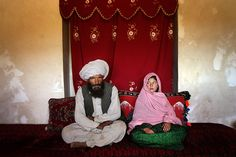 This girl is 11 and it's her wedding day. He is 40. Millions of girls worldwide are forced into mariage