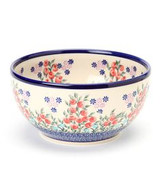 Loving this Red Berry Plant 8'' Bowl on #zulily! #zulilyfinds