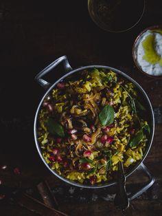 Mujadarra, Lähi-idän paistettu riisi.