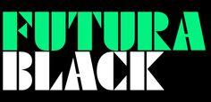 Fonts - Futura Black by URW++ - HypeForType Font Shop