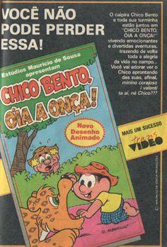 """Fita de vídeo """"Chico Bento, óia a onça"""" (1990)"""