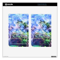 Tranquility Falls Decals For Kindle Fire