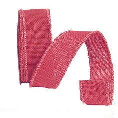 Beachcomber Pink Jute Ribbon