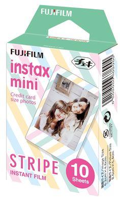Fuji Instax Mini Films Stripe x Fujifilm Mini 8/50s Mini 25/90 Mini 7