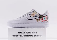 "#sneakers #news  Nike Air Force 1 Low CNY ""Fireworks"" On Display At NikeLab X158 Shanghai"