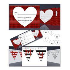 Valentynsdag, Valentine's Day, Wiskunde, Klanke, Vriendskapswerk, Versierings