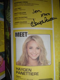Hayden Panettiere at Fan Expo August 26, 2011