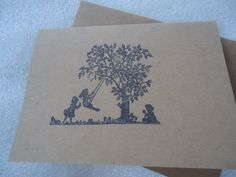 Inspirational Handmade Stamped Card by ChicEventsDecor on Etsy