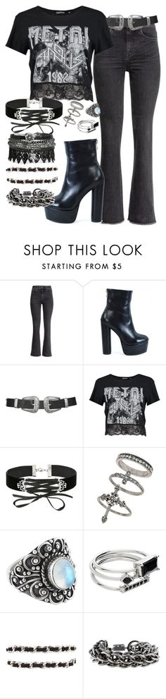 """""""Untitled #3018"""" by bekahtee ❤ liked on Polyvore featuring H&M, Topshop, Boohoo, Miss Selfridge, Witchery, Forever 21 and Burberry"""