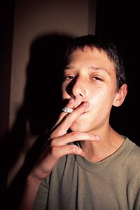 TEENAGE SMOKERS 2 by Ed Templeton
