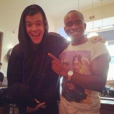 i really like it when he wears hoodies
