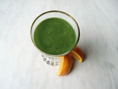 Anti-Inflammatory Orange Avocado Chia Smoothie - a delightful, creamy smoothie rich in nutrients that replenish your body and help remove chronic inflammation.