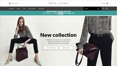 Home page from New Look including coupon discount code and countdown timer #Digital #Web #Marketing #Coupon #CountdownTimer