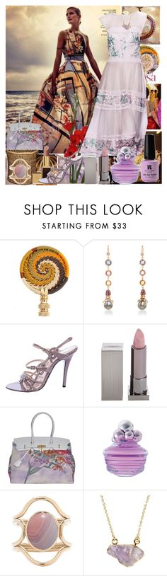 """Untitled 1449"" by ceca-66 ❤ liked on Polyvore featuring Hillary Thomas Designs, Daniela Villegas, Tadashi, Emilio Pucci, Lipstick Queen, Red Carpet Manicure, 2 Di Picche Recycled, Mociun and First People First"