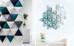 Marzua: El triángulo en la decoración de interiores.