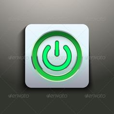 Realistic Power Button with Green Light #GraphicRiver Power button with green light. Vector illustration premium design for application. Isolated and editable. Created: 11October13 GraphicsFilesIncluded: JPGImage #VectorEPS Layered: No MinimumAdobeCSVersion: CS Tags: application #button #circle #decoration #design #electronics #element #eps10 #glass #glossy #glow #glowing #green #icon #led #light #modern #power #premium #round #shiny #sign #start #style #switch #symbol #technology #template…