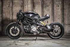 'Darth Mostro' Ducati M1100 – K-Speed Customs