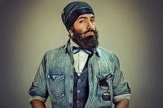The Striking Men Of Sikhism Get Their Due